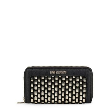 Love Moschino Women Black Wallets