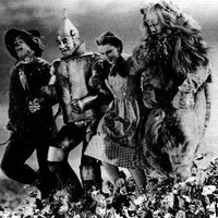 Wizard Of Oz #112 Skipping Down Hill - 8x10 Photograph Black & White Art Print