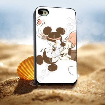 Mickey Mouse Minnie Mouse Kiss - for iPhone 4/4s, iPhone 5/5S/5C, Samsung S3 i9300, Samsung S4 i9500 *ENERGICFRESH*