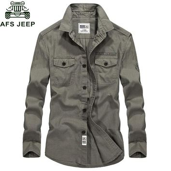 AFS JEEP Army Military Shirt