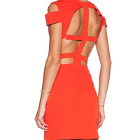 ASILIO The Madness Never Ends Dress in Red