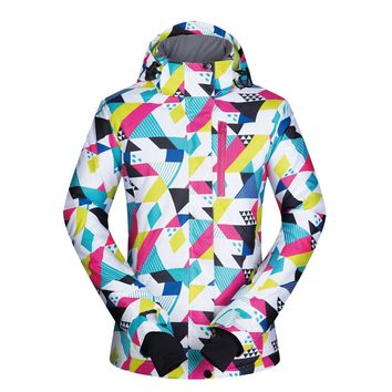 Women Ski Jacket Winter New Windproof Waterproof Breathable Warm CSJ Snow Clothes Skiing And Snowboarding Jacket Brands