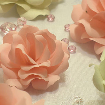 Paper Flower Table Scatter for Weddings and Parties. Table Display, Centerpiece,