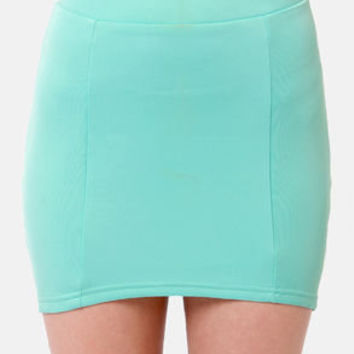 Vixen The Mix Mint Blue Skirt