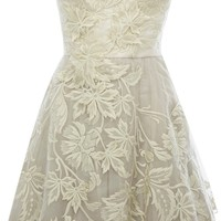 Limited Edition Romantic Embroidery Dress