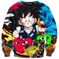 Lil Goku And Friends Crewneck