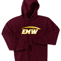 EMW Football Port & Company® - Boys Pullover Hooded Sweatshirt