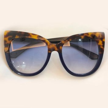 Sexy Cat Eye Sunglasses Women Brand Designer High Quality Acetate Frame UV400 Protection Lens Steampunk Female Sun Glasses