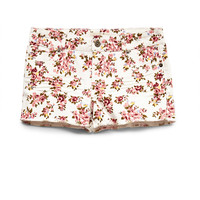 Floral Fun Denim Shorts (Kids)