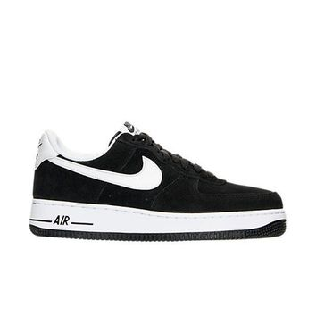 auguau NIKE AIR FORCE 1 ' 07 - BLACK/WHITE