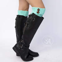 Double Button Boot Cuff