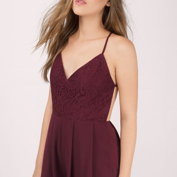 Chase After Lace Romper