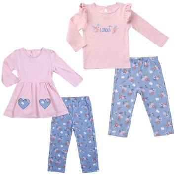 Girl Twin Outfit Set