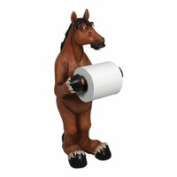 Rivers Edge Products Standing Horse Toilet Paper Holder