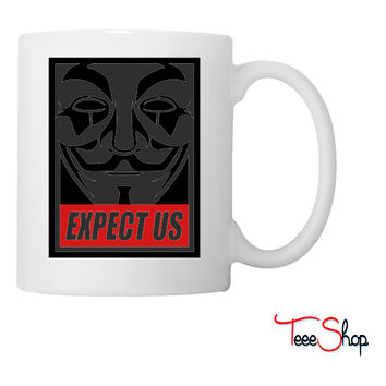 Anonymous Expect us Coffee & Tea Mug