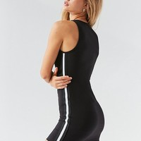 UO Ponte Side-Stripe Bodycon Dress | Urban Outfitters Canada