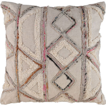 Pink & Cream Aztec Woven Cushion 50x50cm - Living Room - Home - TK Maxx