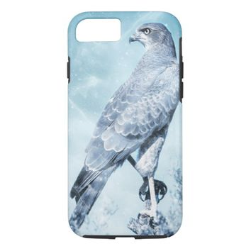 Decorative Falcon Bird iPhone 7 Case