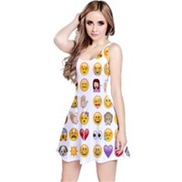 Emojis Sleeveless Dress