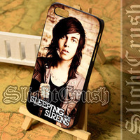 kellin quinn sleeping with sirens - iPhone 4/4s/5/5s/5c Case - Samsung Galaxy S3/S4/S3-mini Case - Black or White