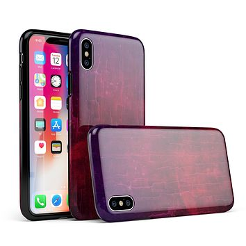 Abstract Fire & Ice V2 - iPhone X Swappable Hybrid Case