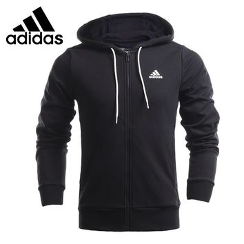 Original Adidas Men's jackets Hooded training Sportswear