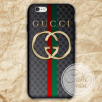 Gucci Guilty Gold Logo phone case iPhone 4/4S, 5/5S, 5C Series, Samsung Galaxy S3, Samsung Galaxy S4, Samsung Galaxy S5 - Hard Plastic, Rubber Case