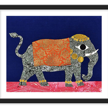 Indian Elephant, Posters