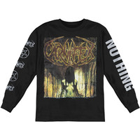 Carnifex Men's  Until I Feel Nothing  Long Sleeve Black Rockabilia