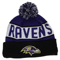Baltimore Ravens NFL Blizzard Knit