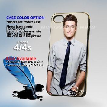 Joshua Hutcherson, Photo On Hard Plastic iPhone 4 4S Case