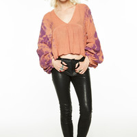Mountain Rose Crop Top - SPECIAL ORDER