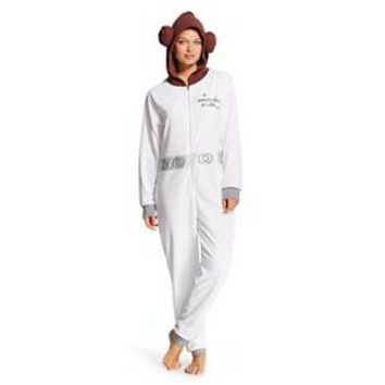 Women's Star Wars Princess Leia Union Suits White : Target