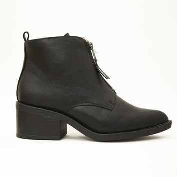 Olivia vegan ankle boots