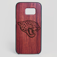 Jacksonville Jaguars Galaxy S7 Edge Case - All Wood Everything