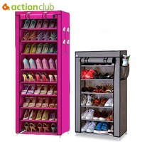 7 Layers 10 Layers Shoes Storage Cabinet DIY Assembly Dust-proof Moisture-proof Large Capacity Shoe Rack
