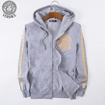 Versace Fashion Casual Cardigan Jacket Coat Hoodie-2