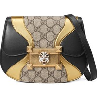 Gucci Mini Osiride GG Supreme & Leather Shoulder Bag | Nordstrom