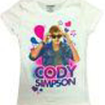 Officially Licensed Cody Simpson Solo Pose Girls Shirt S M L XL