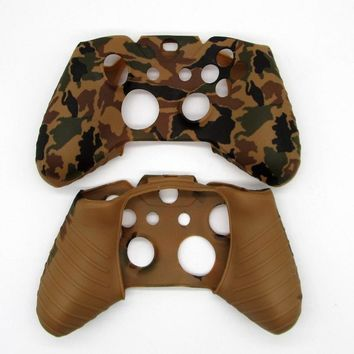 [13 Colors]  1PCS Soft Silicone Protective Skin Case Cover for XBOX One 1 Controller Gamepad Purple Grey Black White Brown