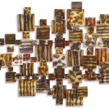 Inspiration Contemporary Wall Sculpture by Metal Perspectives