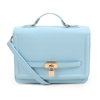 ice cream color satchel for women