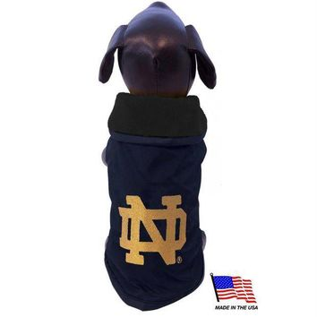 ICIKSX5 Notre Dame Weather-Resistant Blanket Pet Coat