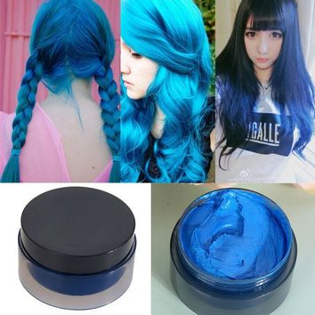 DCCKL72 Hot! 100ml Women's Fashion Hair Tool Hair Modeling Temporary Hair Dye Cream Wax Mud-Best quality !! 100% Good feedback