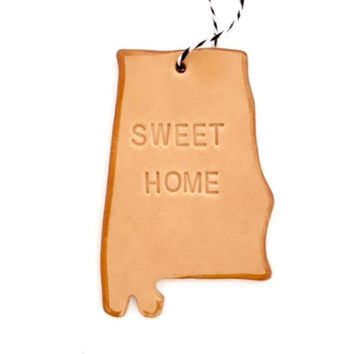 State of Alabama Ornament