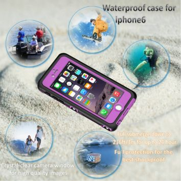 "Fashion Shockproof Waterproof Dirt Proof Case Cover For iphone 6 4.7"" SALE"
