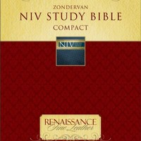 Zondervan NIV Study Bible, Compact: Updated Edition