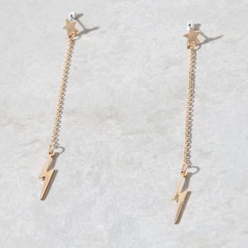 LA Hearts Bolt Earrings at PacSun.com