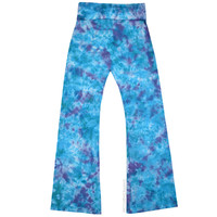Ocean Ripple Tie Dye Yoga Pants on Sale for $32.00 at HippieShop.com