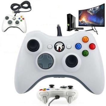 USB Wired Joypad Gamepad Controller Joystick For Xbox 360 Slim Accessory Joystick For Official Microsoft PC For Windows 7/8/10